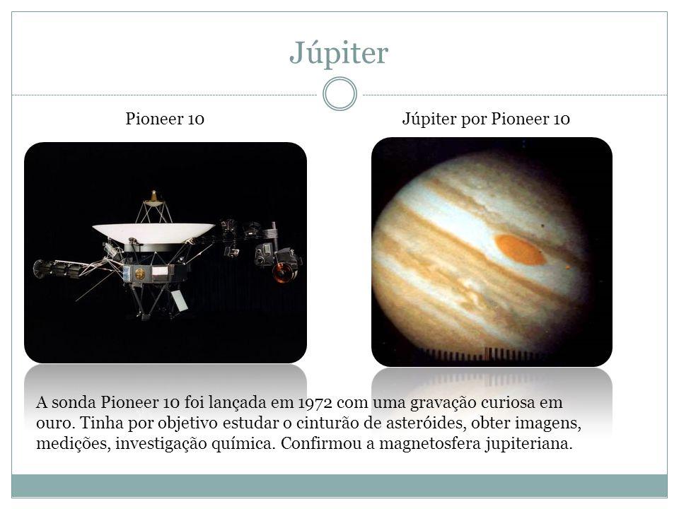 Júpiter Pioneer 10 Júpiter por Pioneer 10