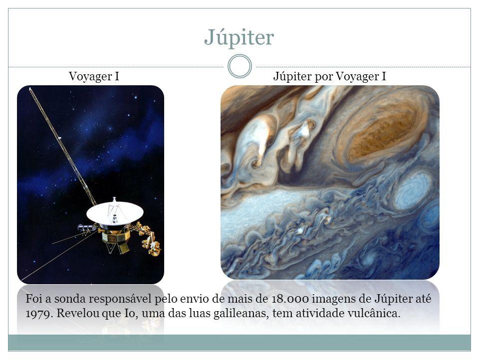 Júpiter Voyager I Júpiter por Voyager I