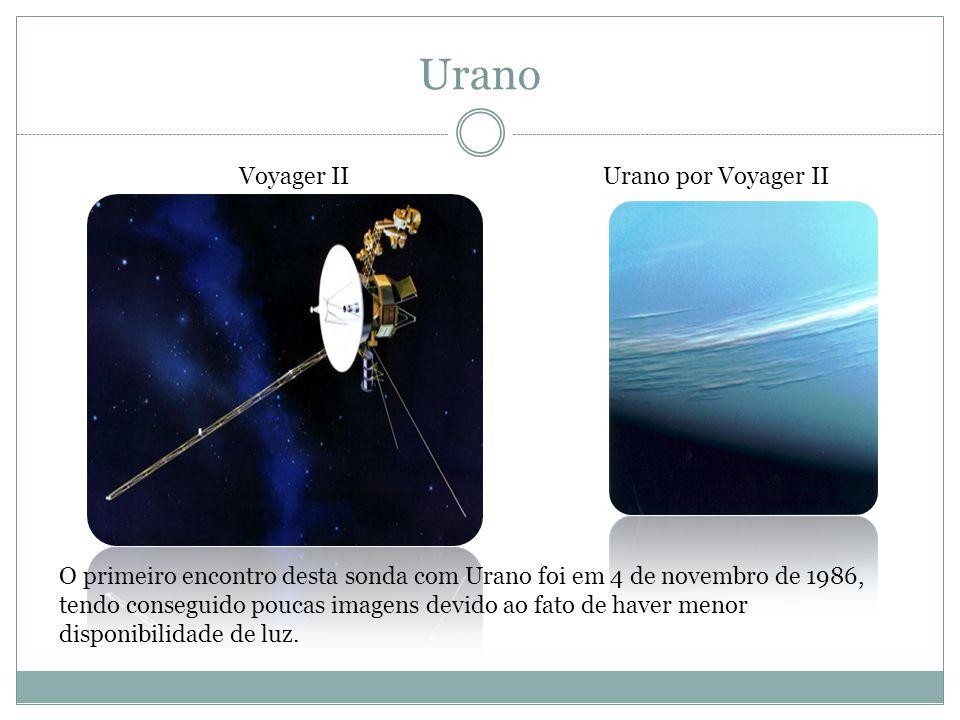 Urano Voyager II Urano por Voyager II