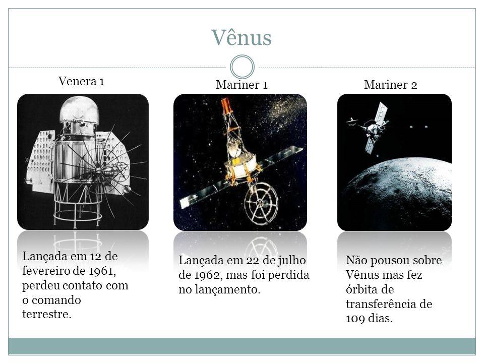 Vênus Venera 1 Mariner 1 Mariner 2