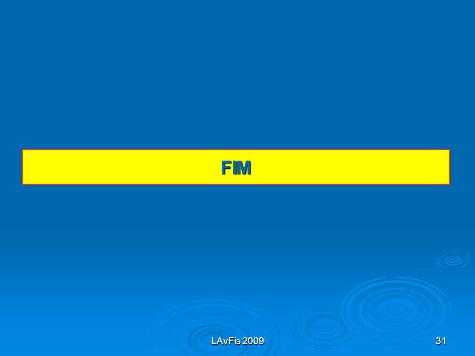 FIM LAvFis 2009