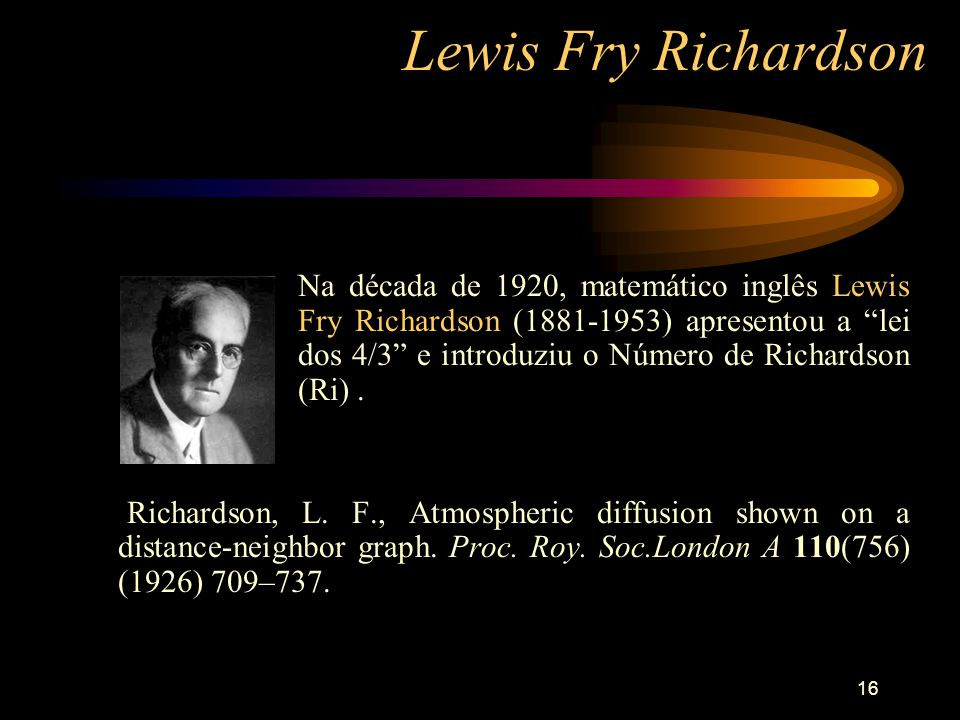 Lewis Fry Richardson
