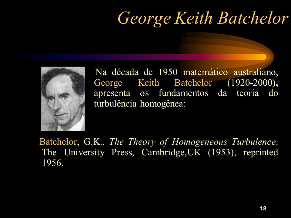 George Keith Batchelor