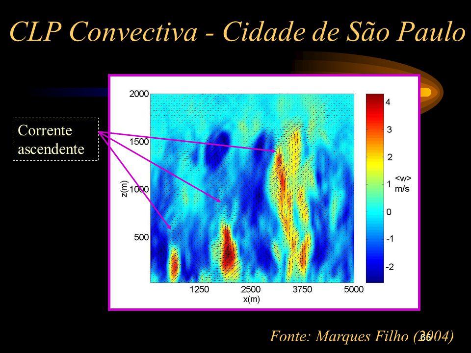 CLP Convectiva - Cidade de São Paulo
