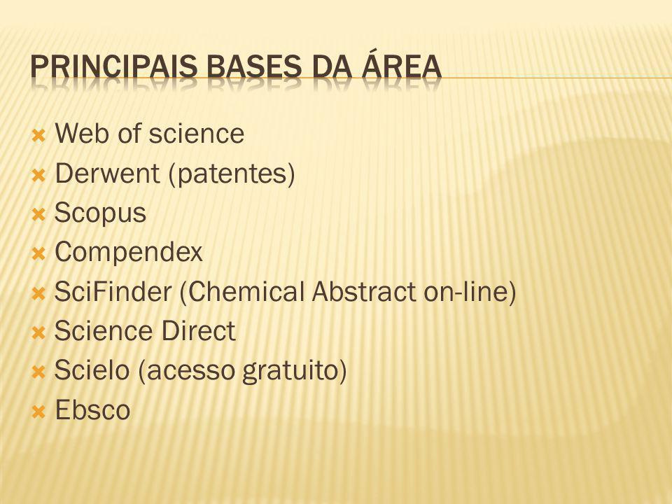 Principais bases da área