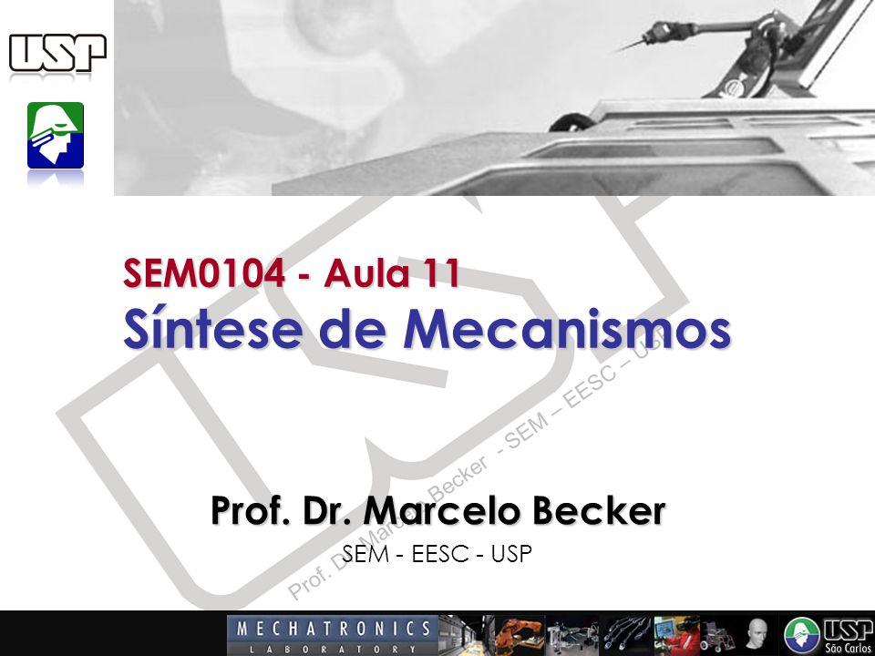SEM0104 - Aula 11 Síntese de Mecanismos
