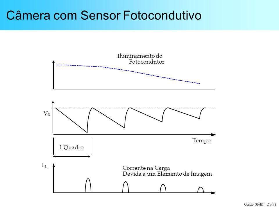 Câmera com Sensor Fotocondutivo