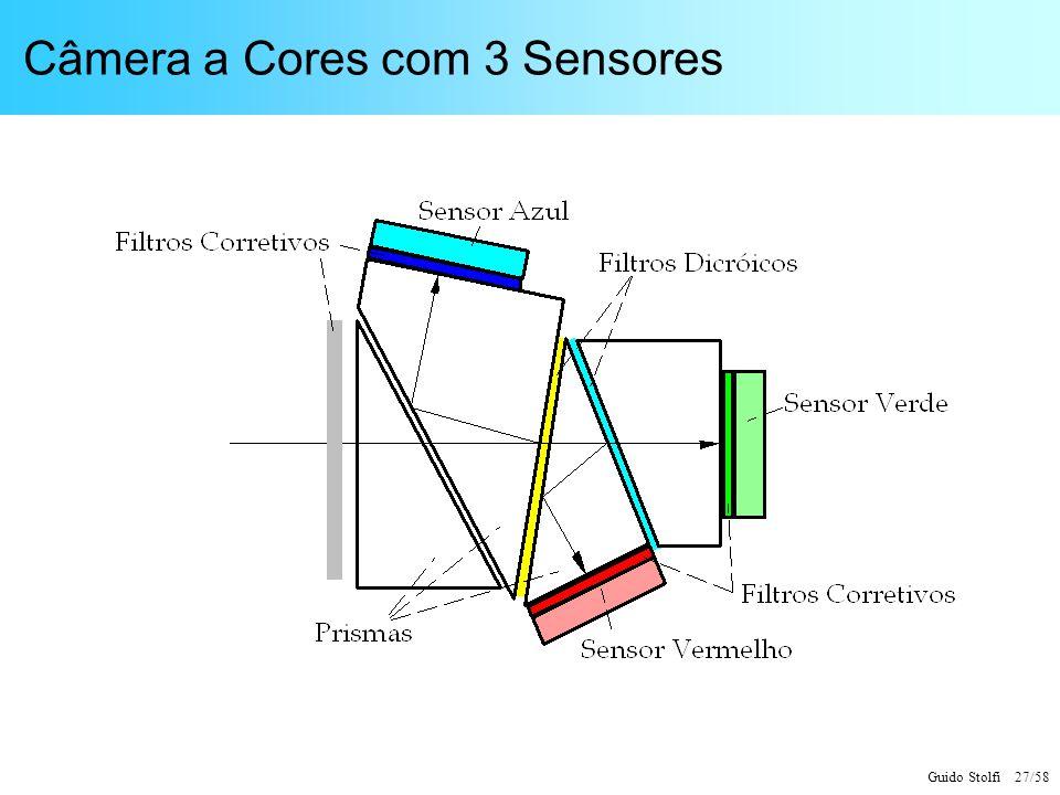Câmera a Cores com 3 Sensores