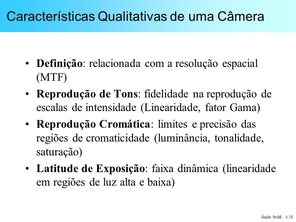 Características Qualitativas de uma Câmera