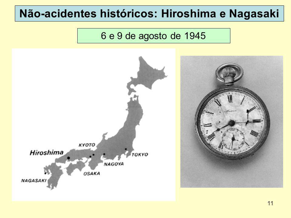 Não-acidentes históricos: Hiroshima e Nagasaki