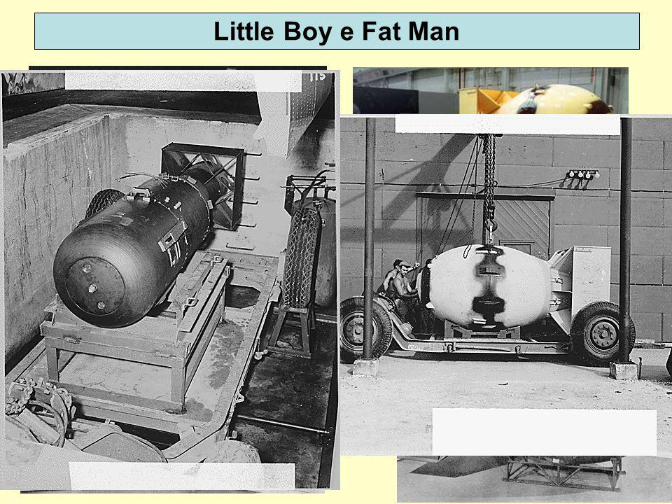 Little Boy e Fat Man