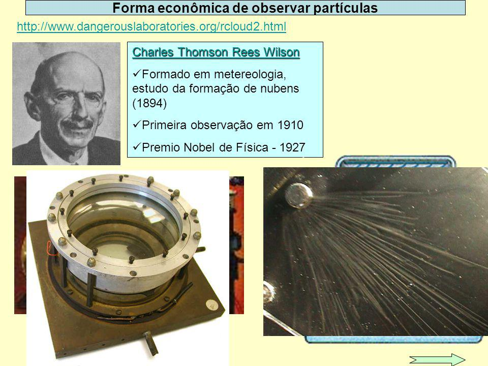 Forma econômica de observar partículas
