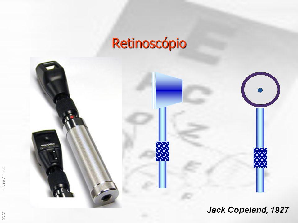 Retinoscópio Jack Copeland, 1927