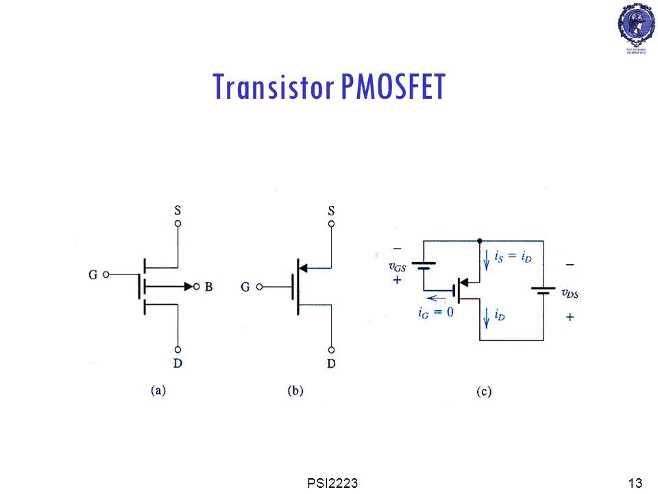 Transistor PMOSFET PSI2223 13