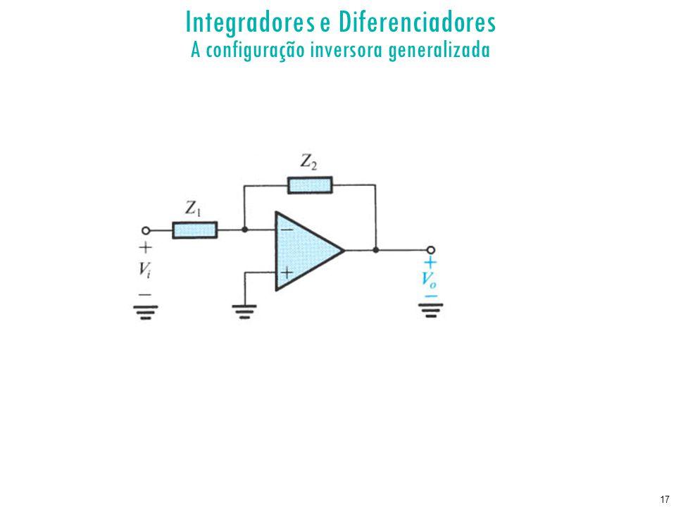 Integradores e Diferenciadores