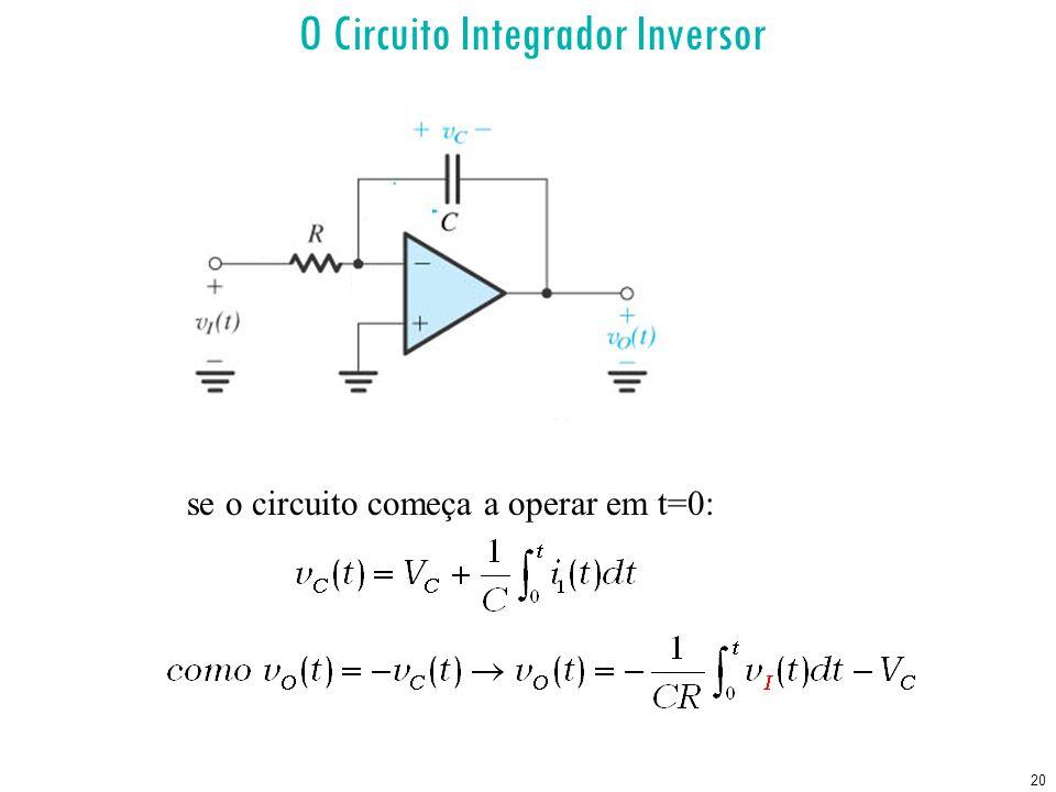 O Circuito Integrador Inversor
