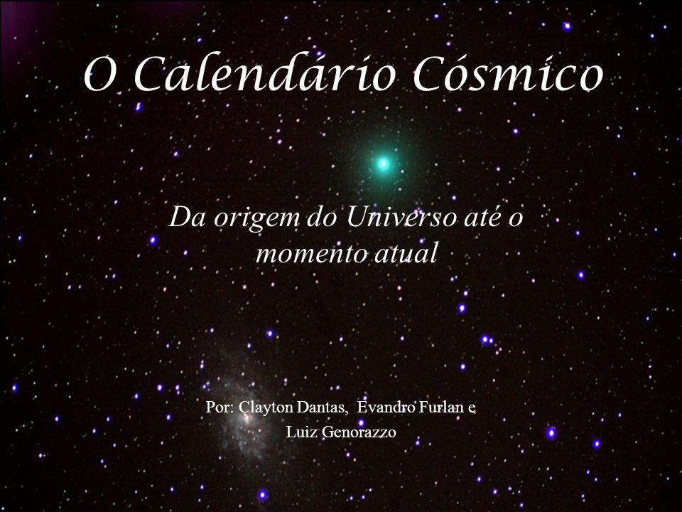 Da origem do Universo até o momento atual