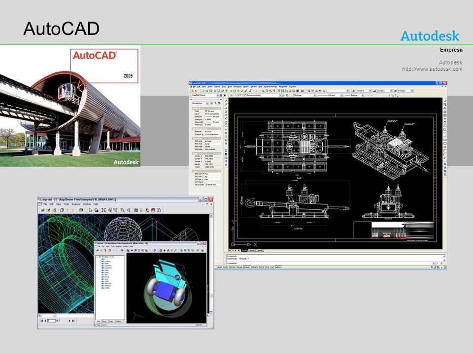 AutoCAD Empresa Autodesk http://www.autodesk.com