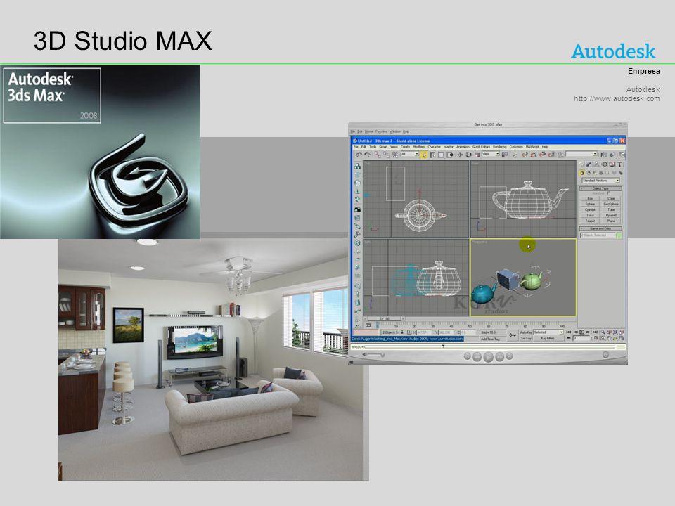 3D Studio MAX Empresa Autodesk http://www.autodesk.com