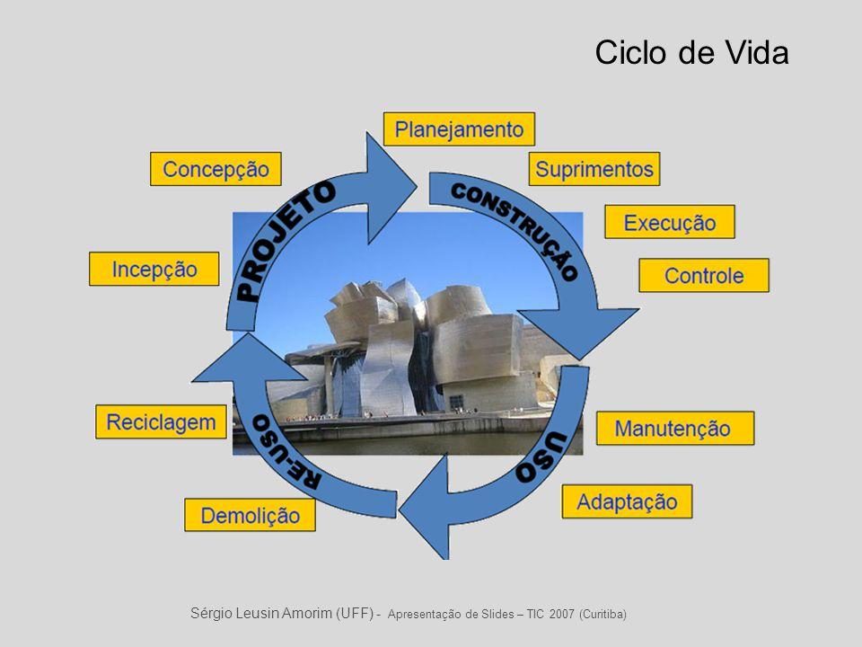 Ciclo de Vida Sérgio Leusin Amorim (UFF) - Apresentação de Slides – TIC 2007 (Curitiba)