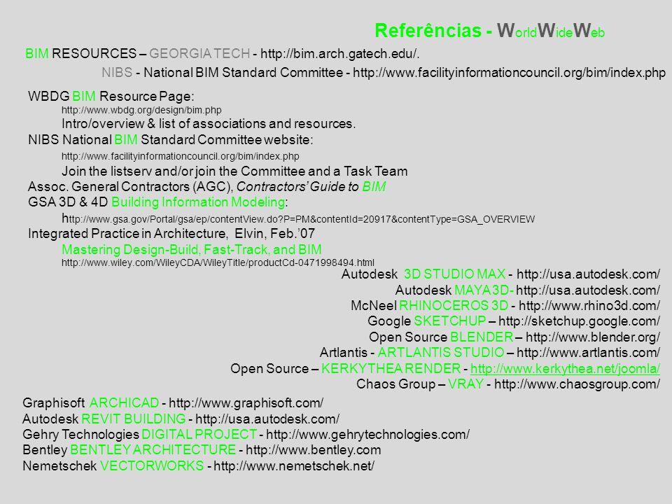 Referências - WorldWideWeb