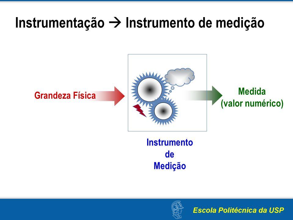 Instrumentação  Instrumento de medição