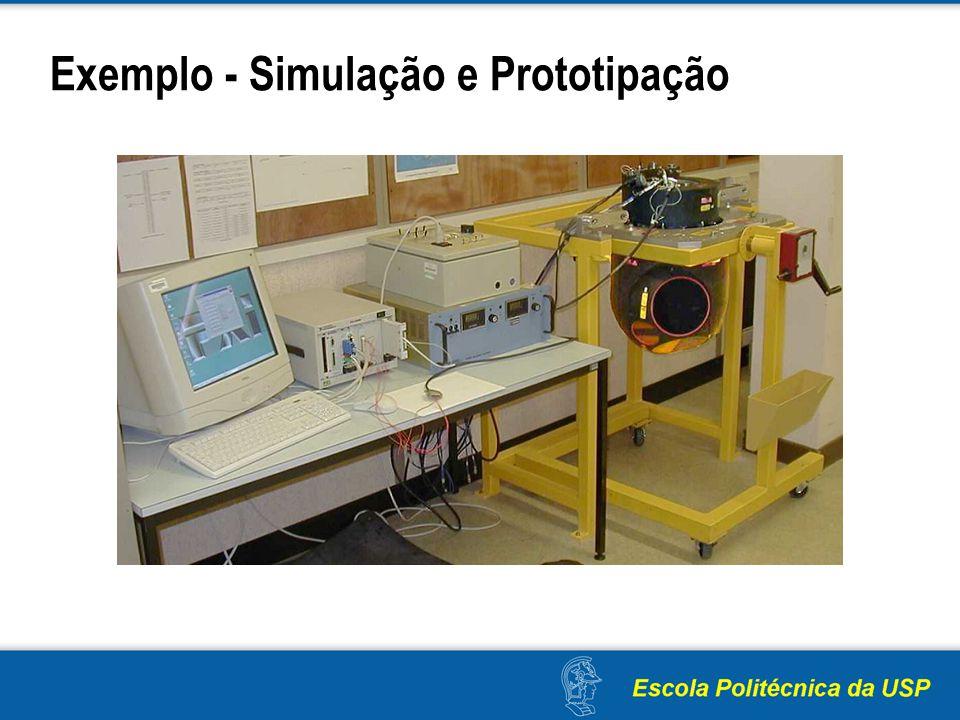 Exemplo - Simulação e Prototipação