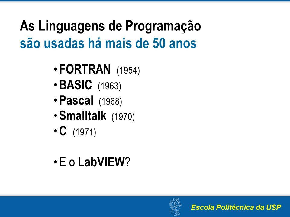 As Linguagens de Programação são usadas há mais de 50 anos