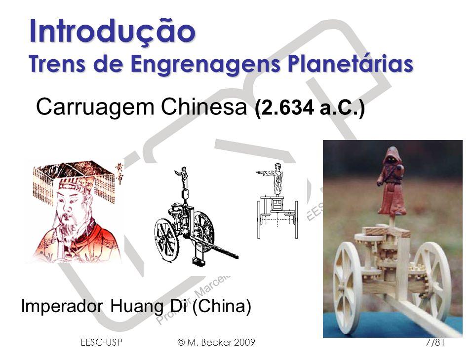 Introdução Trens de Engrenagens Planetárias