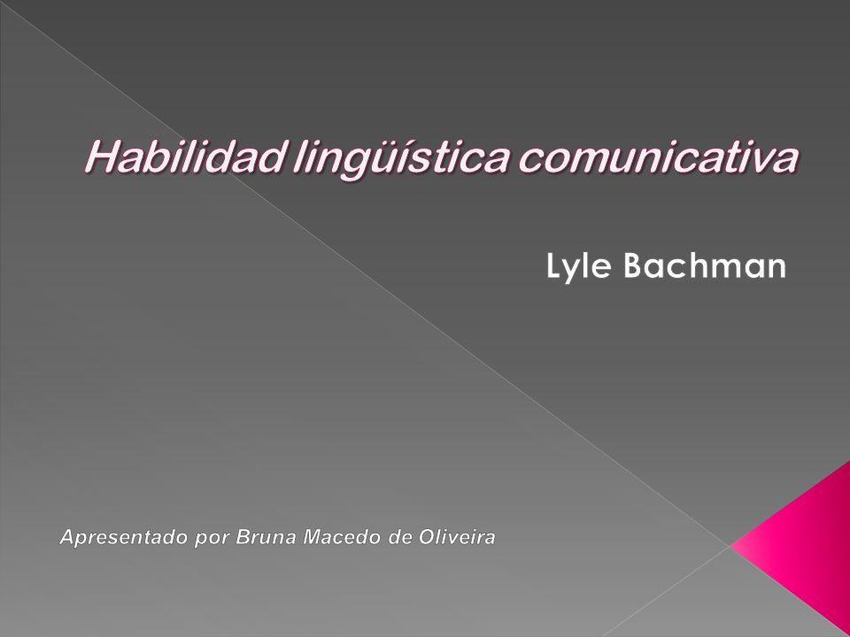 Habilidad lingüística comunicativa