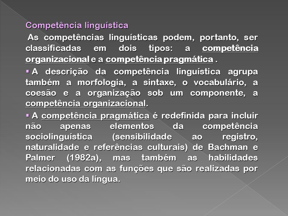 Competência linguística