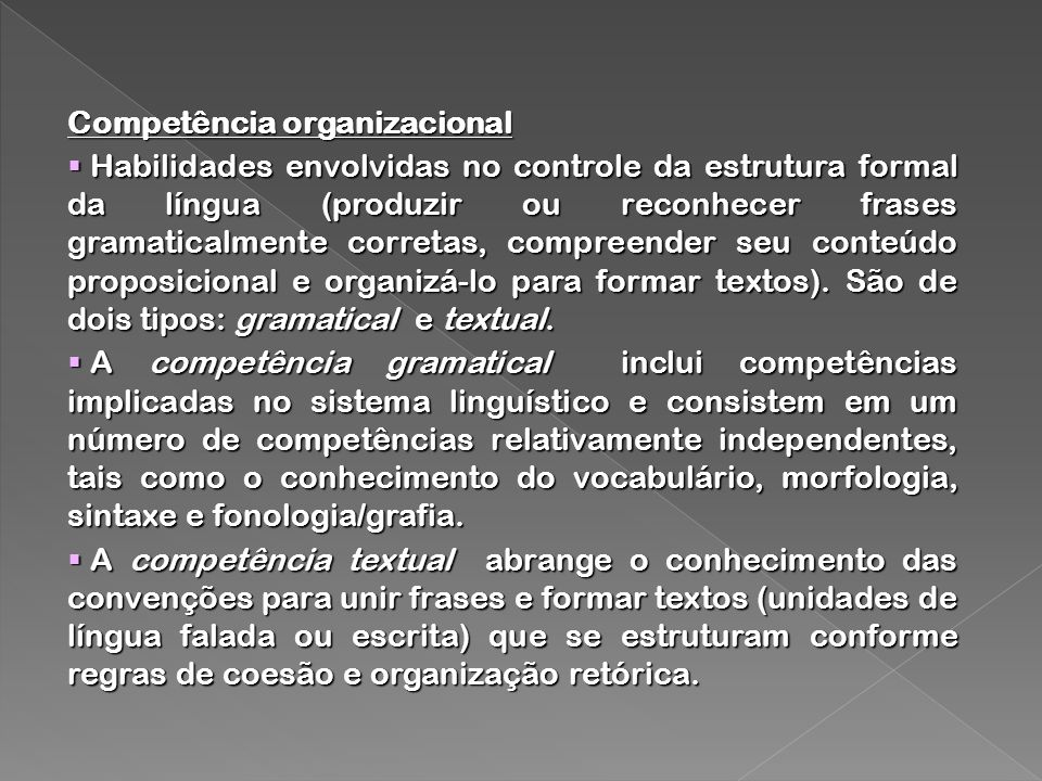 Competência organizacional