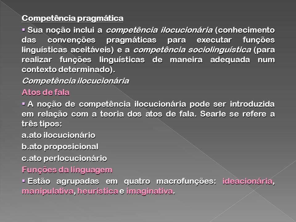 Competência pragmática