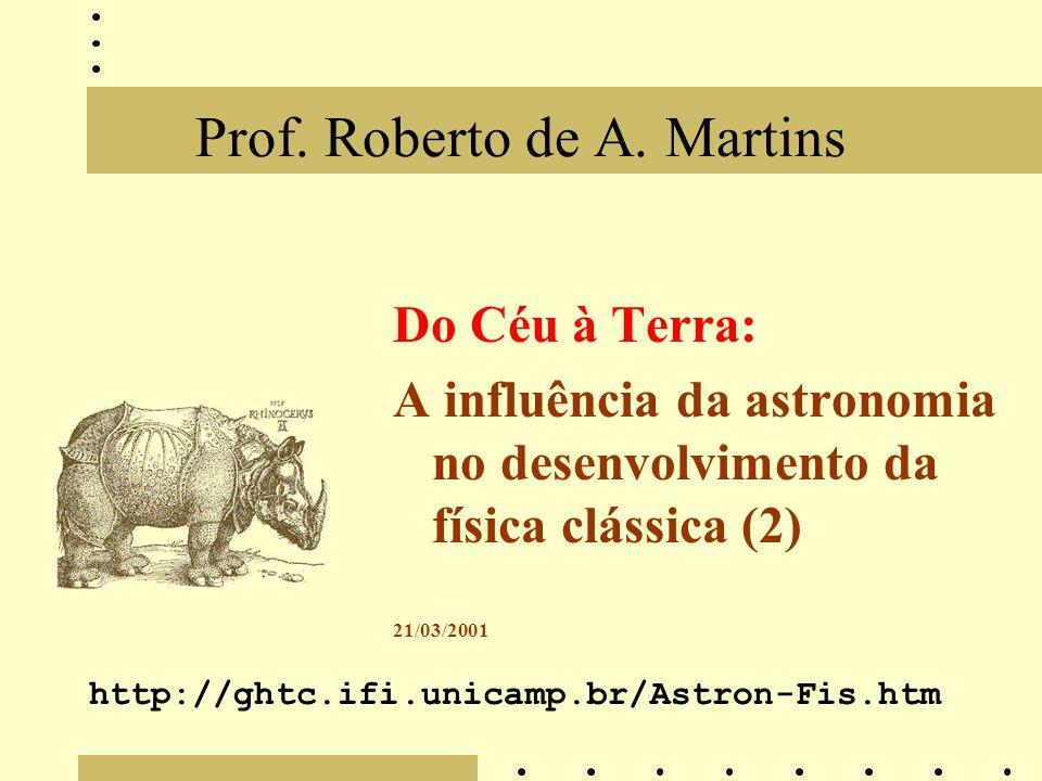 Prof. Roberto de A. Martins