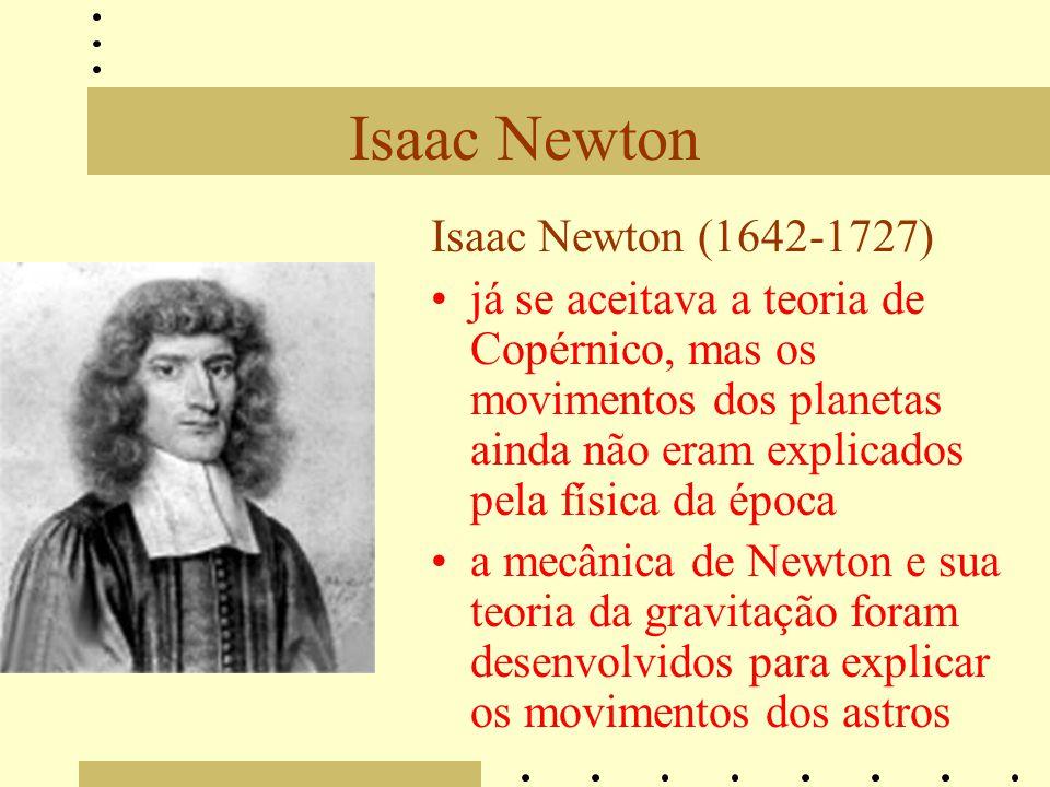 Isaac Newton Isaac Newton (1642-1727)