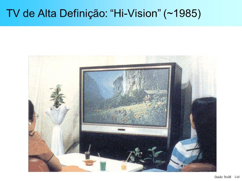 TV de Alta Definição: Hi-Vision (~1985)