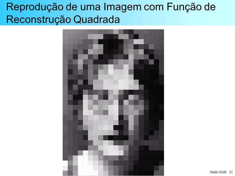 Reprodução de uma Imagem com Função de Reconstrução Quadrada