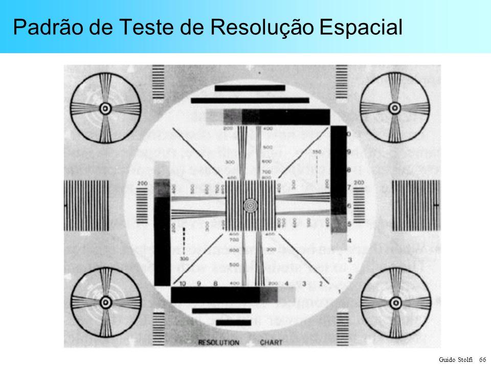 Padrão de Teste de Resolução Espacial