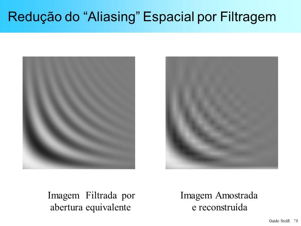 Redução do Aliasing Espacial por Filtragem