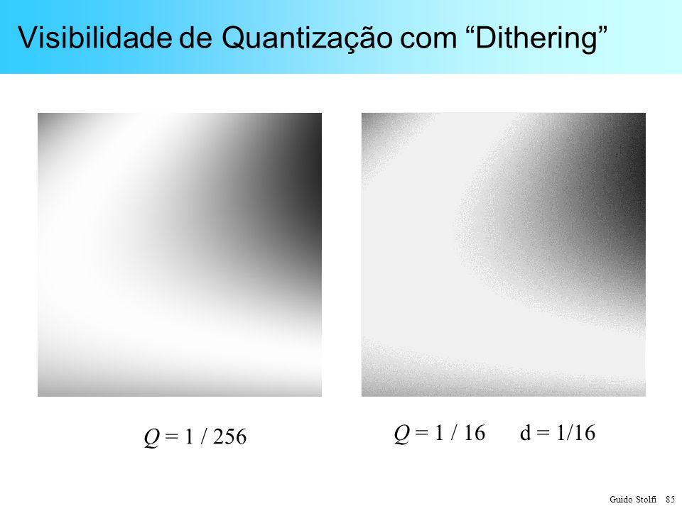 Visibilidade de Quantização com Dithering
