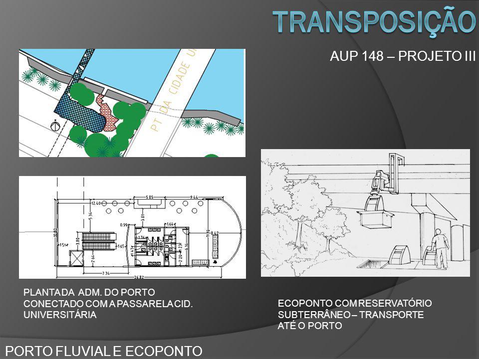 transposição AUP 148 – PROJETO III PORTO FLUVIAL E ECOPONTO