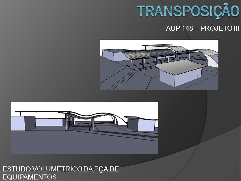 transposição AUP 148 – PROJETO III