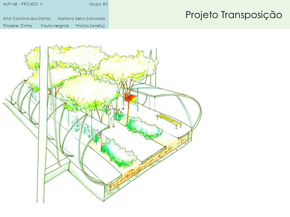 Projeto Transposição AUP148 - PROJETO III Grupo B3