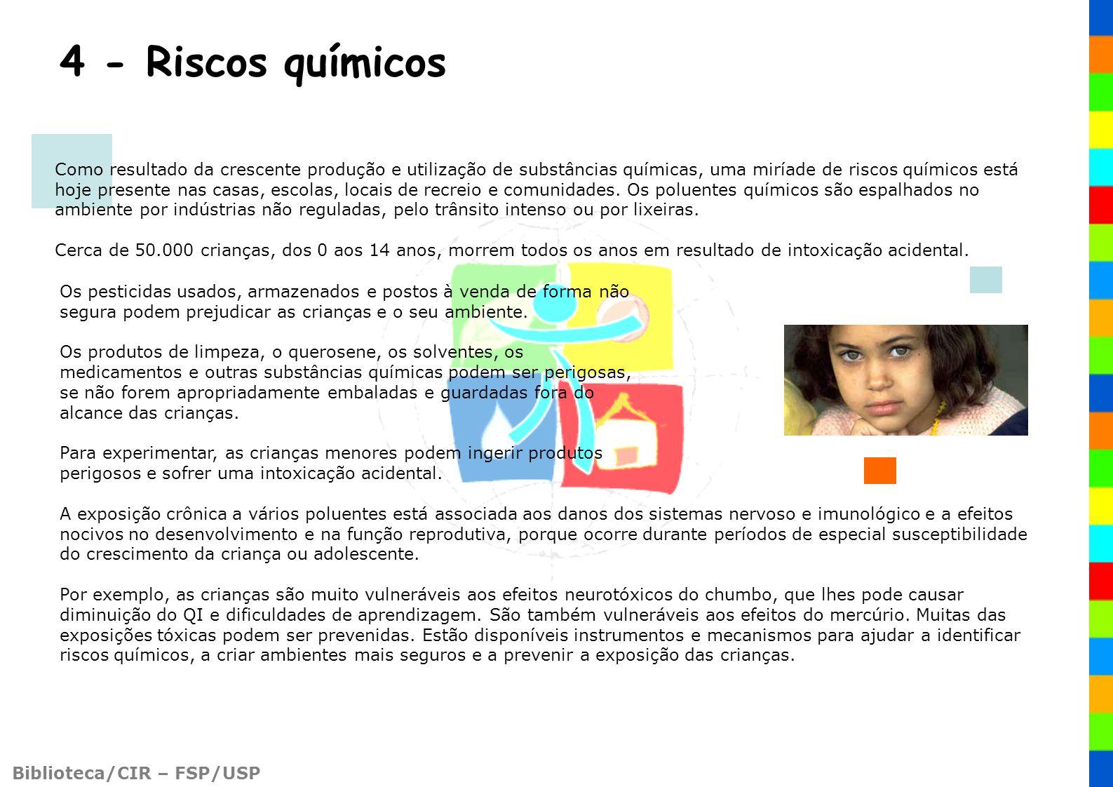 4 - Riscos químicos