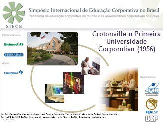 8 Crotonville a primeira Universidade Corporativa (1956)
