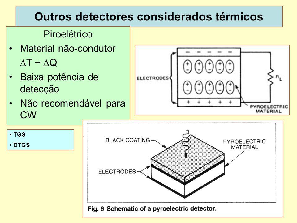 Outros detectores considerados térmicos