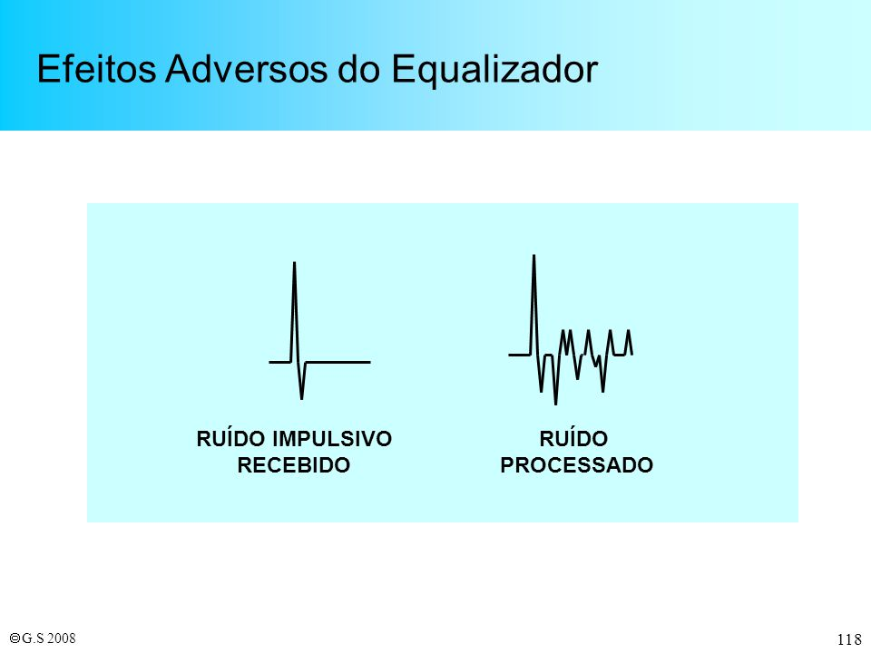 Efeitos Adversos do Equalizador