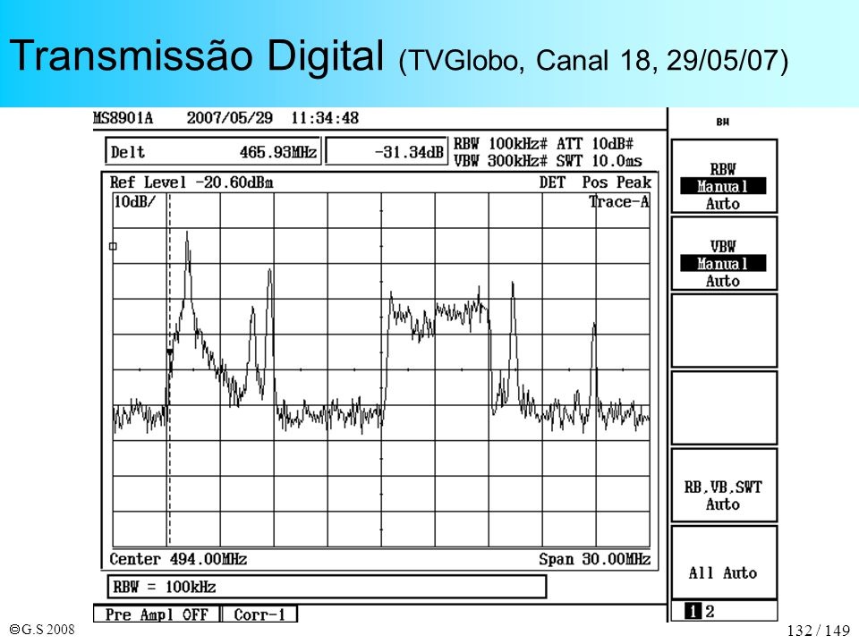 Transmissão Digital (TVGlobo, Canal 18, 29/05/07)