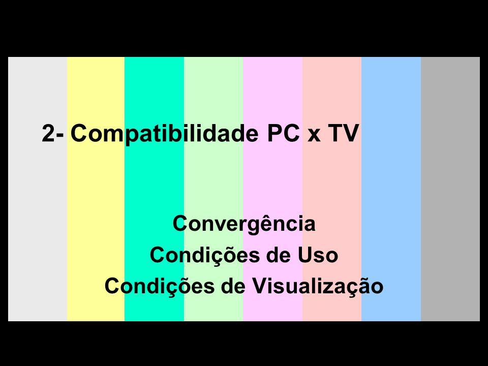 2- Compatibilidade PC x TV