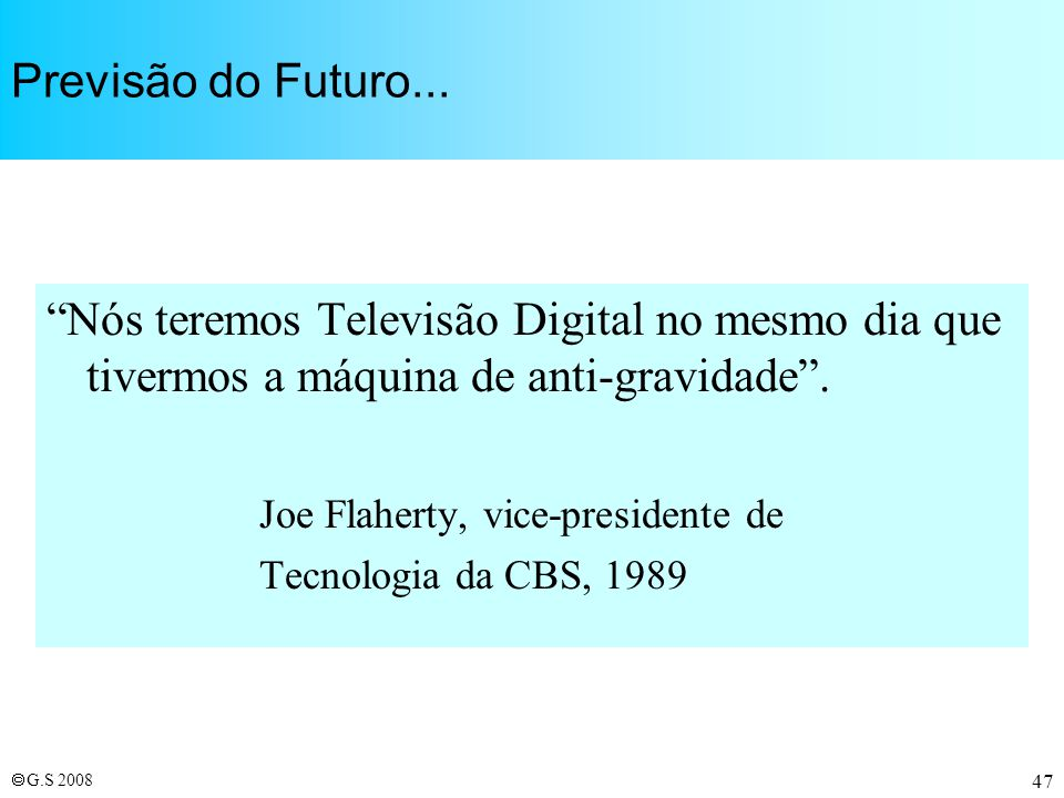Joe Flaherty, vice-presidente de